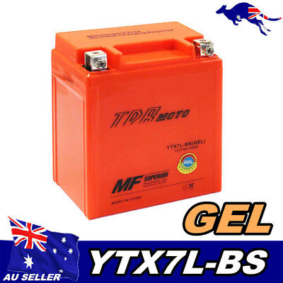 GEL12V 7Ah High Quality Battery Motorcycle Dirt Bike Quad ATV Scooter YTX7L-BS