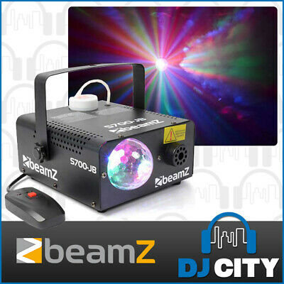 Beamz S700-JB 700W Smoke Machine with LED Jelly Ball Disco Party Effect Light