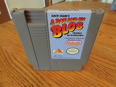 A Boy and His Blob: Trouble on Blobolonia  (Nintendo, 1989) NES