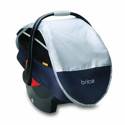 Brica Infant Comfort Canopy Car Seat Cover, Free Shipping, New