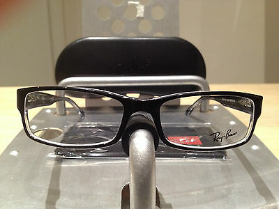 GLASSES RAY BAN RB 5114 2034 TOP BLACK ON TRANSPARENT 52/16 RayBan DISPONIBILE