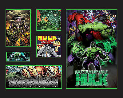 New Hulk Limited Edition Memorabilia Framed
