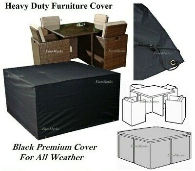 Waterproof Garden Furniture Cover Outdoor Furniture Cover Rattan Cube Cover New