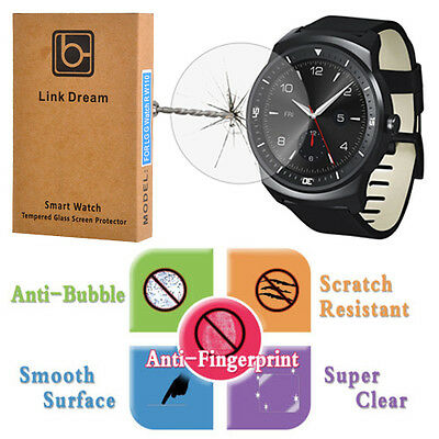 9H Real Tempered Glass Screen Protector Film For LG G Watch R W110 Smart Watch