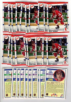3X STEVE YZERMAN 1990-91 Score #3 NMMT 3 for.99 Lots Available Red Wings