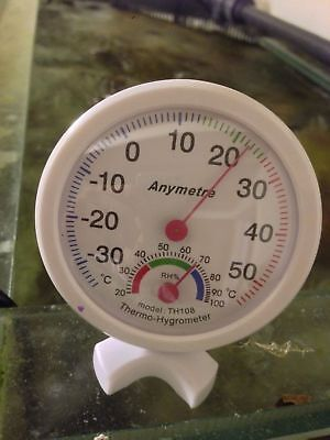 Temperature Humidity Meter Monitor For Marine Aquarium Sump Room Fish Room
