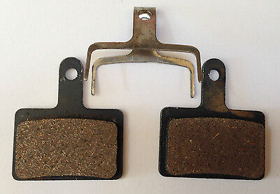 Shimano Deore Semi Metal Resin Brake Pads - B01S  B01 395 446 485 525