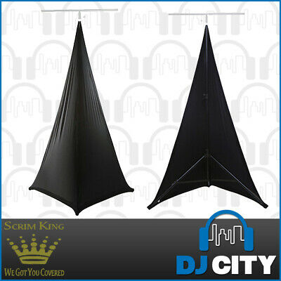 SCRIM KING Double Sided Lighting Stand Scrim in Black - Lycra Stand Cover