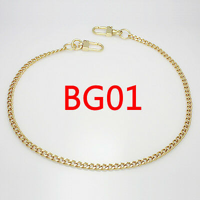 BG01 purse metal chain strap replacement gold crossbody shoulder strap handbag