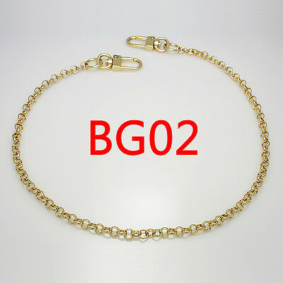 BG02 purse metal chain strap replacement gold crossbody shoulder strap handbag