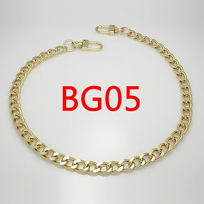 BG05 purse metal chain strap replacement gold crossbody shoulder strap handbag