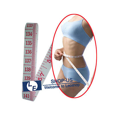Body Measuring Ruler Sewing Cloth Tailor Tape Measure Soft Flat Ruler 60""