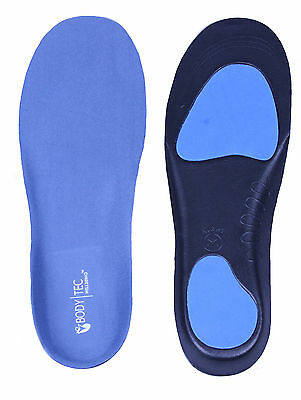 Full length Orthotic Insoles Arch Support Heel Cup pronation flat feet fallen BT