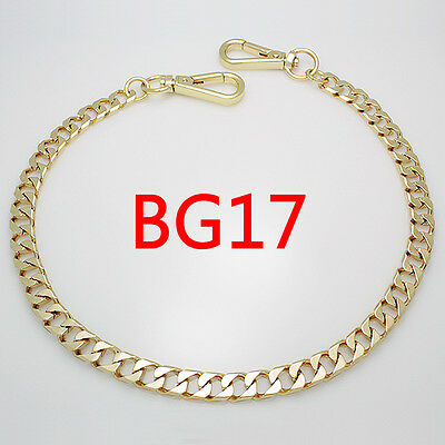 BG17 purse metal chain strap replacement gold crossbody shoulder strap handbag