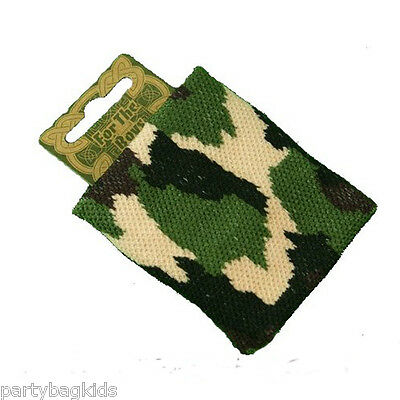 Boys Camouflage Army Themed Party Bag Filler Camo Sweatband Army Wristband