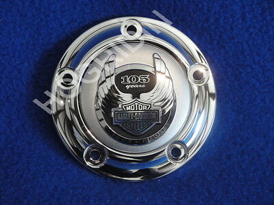 HARLEY 105th ANNIVERSARY TIMER POINTS COVER SOFTAIL TOURING DYNA ULTRA FATBOY FX