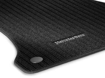 Genuine Mercedes-Benz W205 C-Class Saloon & Estate Ribbed Floor Mats NEW
