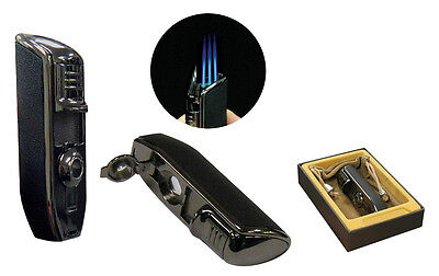 Olympus Triple Jet Flame Torch Lighter - Prestige Import Group - New