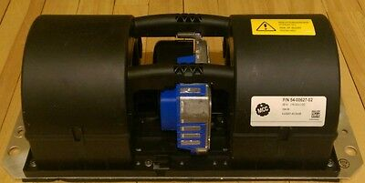 EC dual centrifugal blowers with brushless DC motor, Ø 97mm