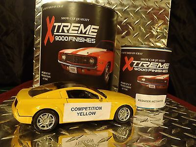 Auto Paint Urethane Competition Yellow Single Stage ... Free Shipping
