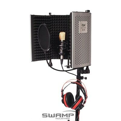 DIY Home Studio Vocal Recording Package - iSK BM-700 Mic + RF-5 Vocal Booth
