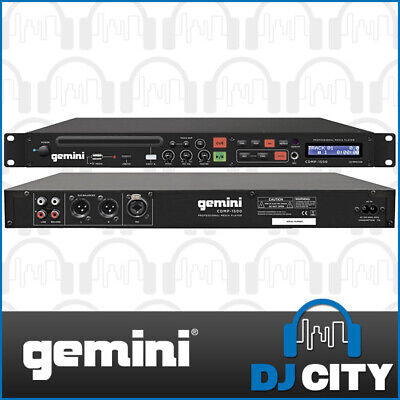 Rackmount Media Player - Play CD's, USB and SD Cards straight from the unit -...