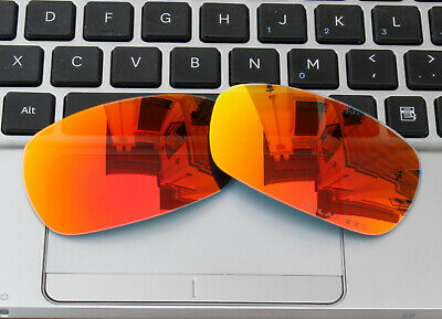 c0729a09c9 ACOMPATIBLE Polarized Lenses Replacement for-Oakley Crosshair 2.0 Fire Red