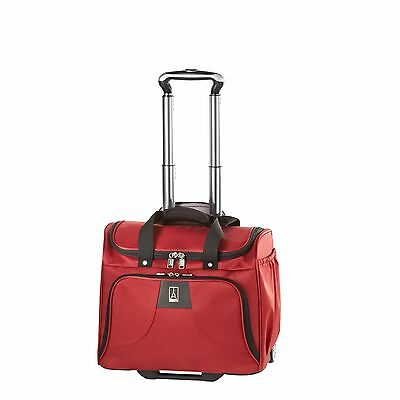 Travelpro WalkAbout Lite4 13 in. Rolling Tote - Luggage Wine - MSRP $260
