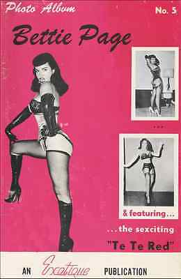 Exotique Photo Album 5 Betty Bettie Page + Dominant Damsels corsets ebooks on CD