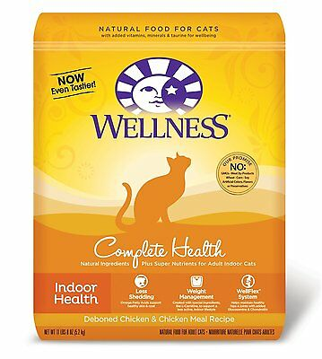 Wellness Dry Cat Food For Adult Cats Indoor Health Recipe 11 Pound And 8 Ounce