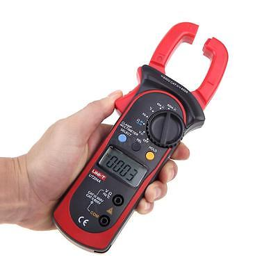 UNI-T UT204A Digital Clamp Meter DMM AC/DC Volt Amp Resistance Frequency Test TA