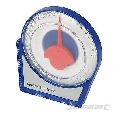 Silverline New Inclinometer Roofing Scaffolding Angle Finder Level Gauge 250471