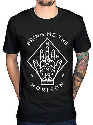 Official Bring Me The Horizon Diamond Hand NEW Unisex T-Shirt Band Metal Merch
