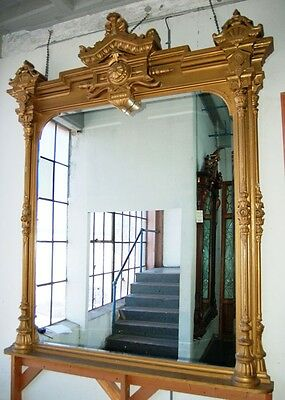 Antique Giltwood Mirror #1474