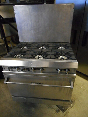 Superior 6 Burner Range/convection Oven With New Blower Motor