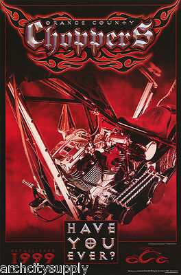 4 Different Posters - Orange County Choppers - Lw15 K/lw25 Q/rc25 H/rp77 L