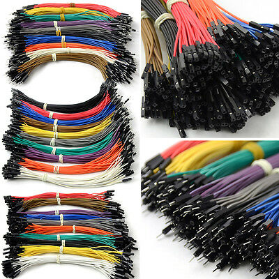 120PinX20cm Dupont Cable Dupont Wire Jumper Cable for Arduino Color Random G1CG