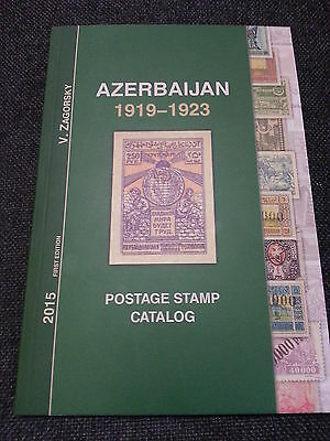 Russia: NEW Azerbaijan 1919-1923 Standard Collection Zagorsky Catalog-IN ENGLISH