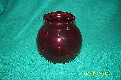 RED RUBY Bud Vase- - 4""