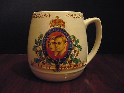 Commemorative Cup  Coronation of King George & Queen Elizabeth May 1937