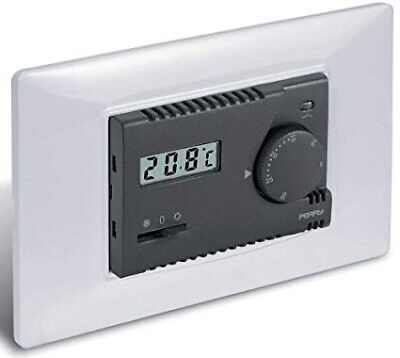 1Ti Te313/Mc Termostato 230V Display Elettronico Incasso Estate-Inverno Perry