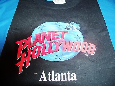 PLANET HOLLYWOOD ATLANTA TEE    NEW    SIZE L