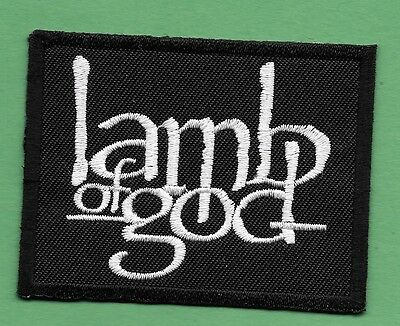 """New Lamb of God  2 X 2 3/4 """"  Inch Iron on Patch Free Shipping"""