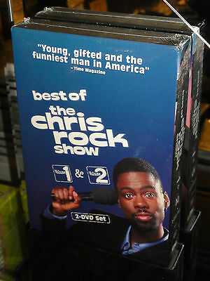 The Best of the Chris Rock Show - Vol. 1 & 2 (DVD) 2-Disc Set! BRAND NEW!