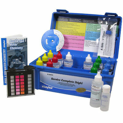 Taylor K-2005C-8 Service Complete Pool Test Kit K2005C8