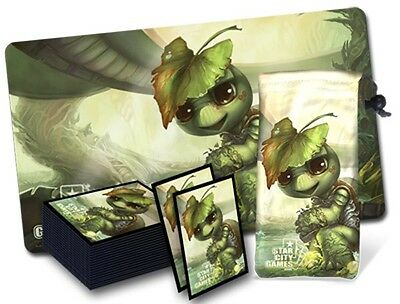 MTG Magic Star City Games Play Mat Parody Series Eturtle Witness BUNDLE