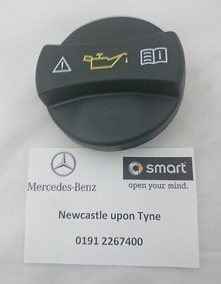 Genuine Smart Fortwo (450) Roadster (452) Engine Oil Filler Cap A0000101285 NEW