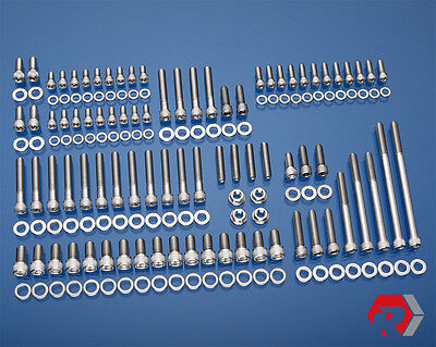 SBF SMALL BLOCK FORD STAINLESS BOLT KIT PRE-86 260 289 302 DRIVER SIDE H20 INLET