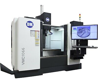 VMC1066 | 3/4/5 Axis CNC Vertical Mill with built in CAD/CAM and CMM
