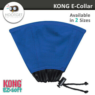 KONG EZ Soft E-Collar, Dog Cat Recovering Surgery Collar, Pet Wound Healing Cone